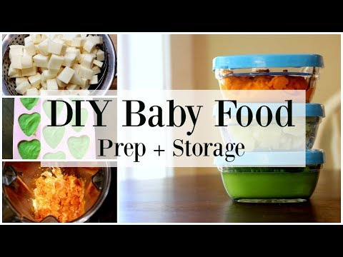 Best DIY Baby Food Recipes - How To Make Homemade Baby Food ♡ NaturallyThriftyMom