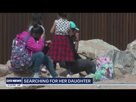 Mother desperate to be reunited with daughter separated at U.S.-Mexico border