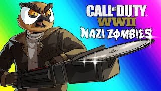 COD WW2 Zombies Funny Moments - Darkest Shore DLC and Easter Egg Attempt! thumbnail