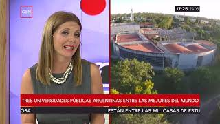 Tres universidades públicas argentinas entre las mejores del mundo