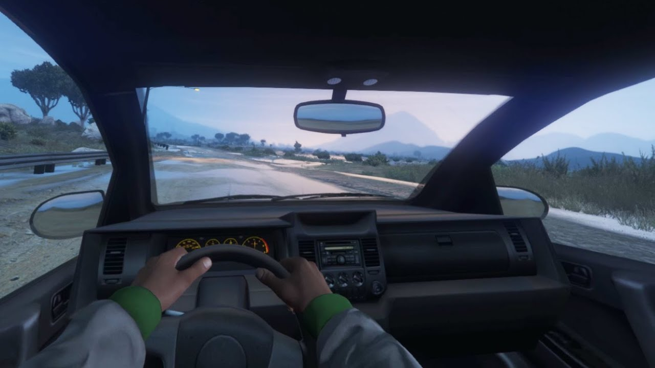 gta 5 pc mods first person fov driving and indicators   youtube