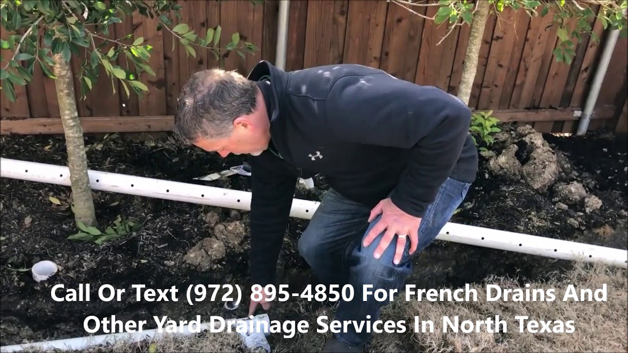 Download French Drain Contractor In McKinney And Collin And Grayson County