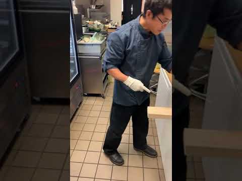 Easy way to clean eel!