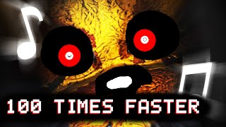 "FNAF SONG ""Goodbye""100 TIMES FASTER!!!"