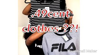 BRAND NEW CLOTHES FOR .49 CENTS ?! CHEAP ROSS HAUL