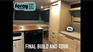 Van Build - Econoline Campervan Tour