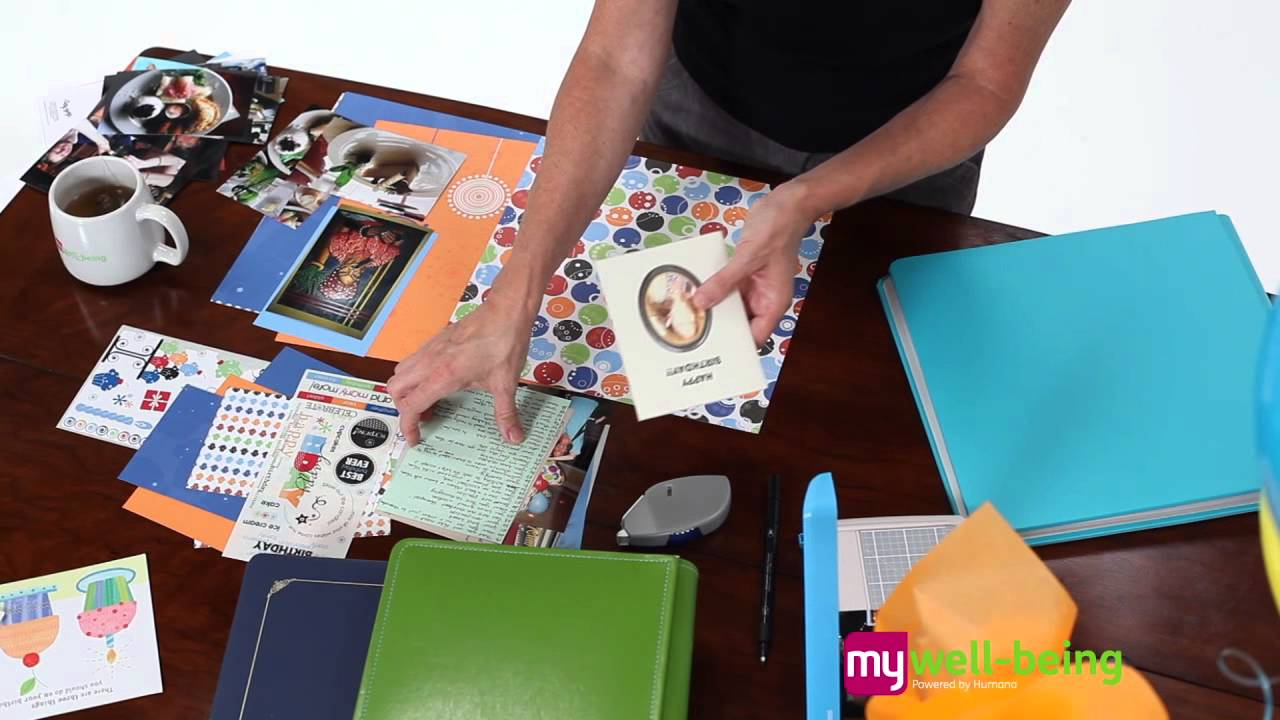 How To Make A Birthday Scrapbook
