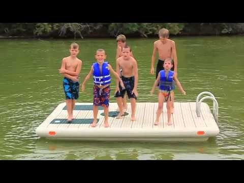 Hewitt Otter Island Swim Raft Youtube