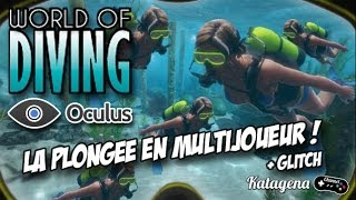 World of Diving - Oculus Rift : En multijoueur ! + glitch [ Video Facecam FR / Francais ]
