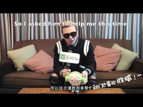 [ENG SUB]GD Beijing Interview- talking about Seungri