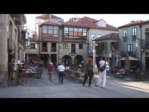The Plazas of Pontevedra, Spain