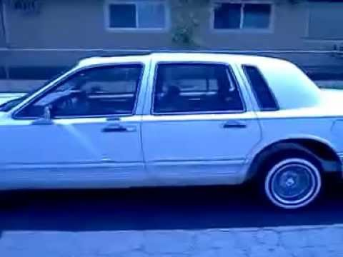 Lincoln Town Car Lowrider Youtube