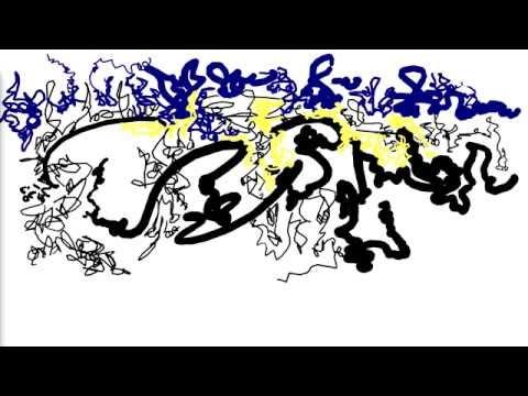 Amalgamation - I - The Rain (digital painting with music, live performance)