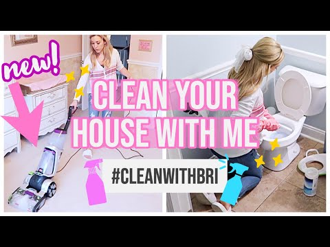 CLEAN WITH ME 2019 | EXTREME CLEANING MOTIVATION + HOMEMAKING FALL 2019 Brianna K