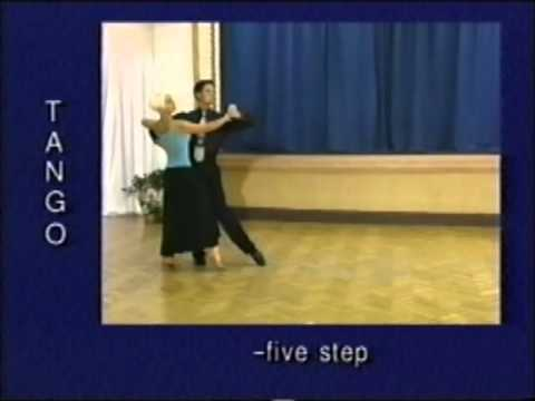 how to dance tango step by step