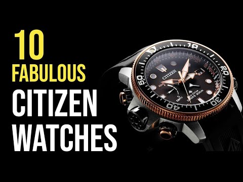 Top 10 New Citizen Watches To Buy 2020