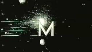 Classic Sesame Street animation- M in Space