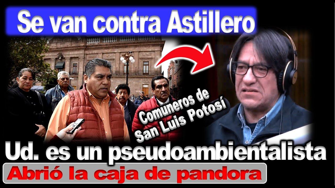 """Comuneros responden a Astillero: """"no es válido que con chantajes ambientalistas imponga su verdad"""""""