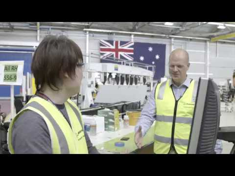 Boeing Australia, 2016 Investment Award winner