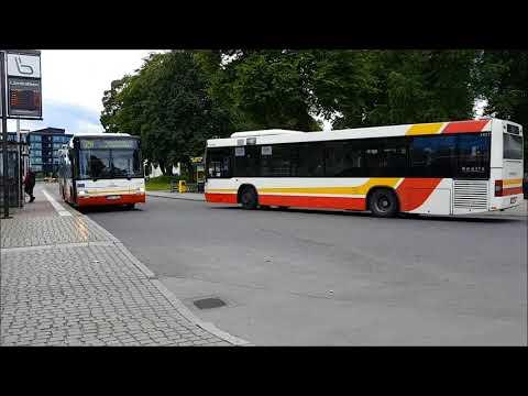 Buses at Rådhusparken Jönköping 2017