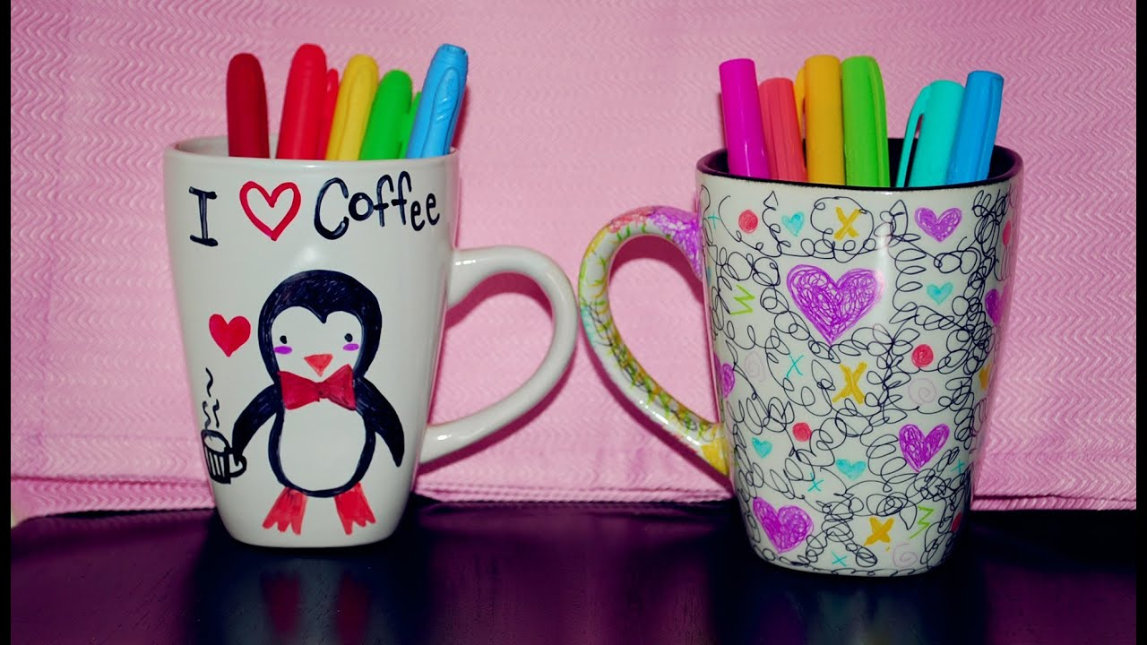 Coffee Cup Decoration Ideas Diy Mugs