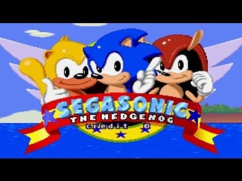 SegaSonic the Hedgehog  Walkthrough [1080p]