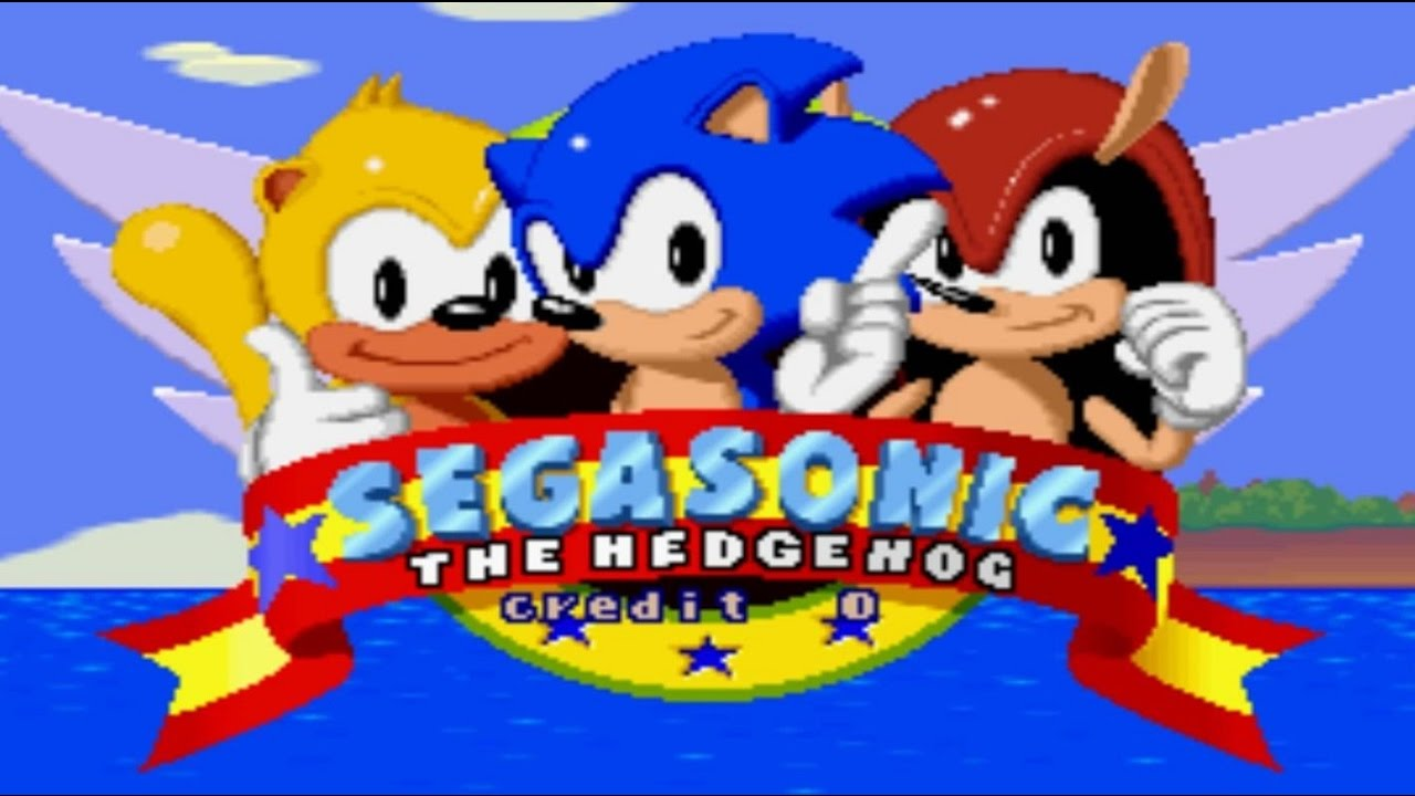 Sega Sonic the Hedgehog  Walkthrough [1080p]