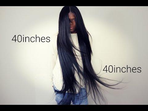 Nicki Minaj inspired 40in Lace Frontal unit