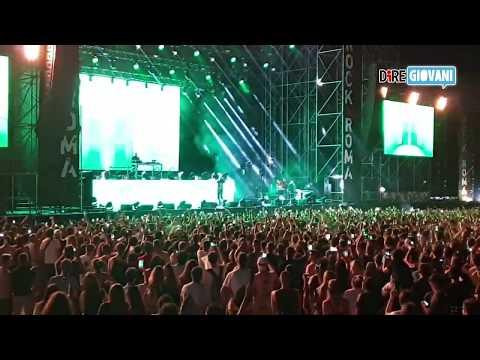 Il concerto di Gemitaiz a Rock in Roma in due minuti