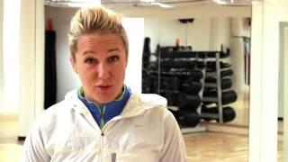 Spring för Livet med Kajsa Bergqvist