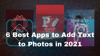 6 Best Apps to Add Text to Photos (iOS & Android) in 2021 screenshot 2