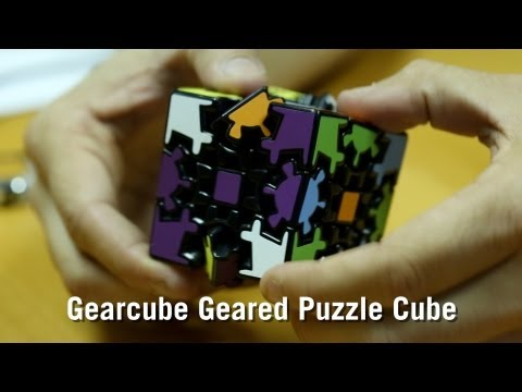 Gearcube Geared Puzzle Cube from ThinkGeek