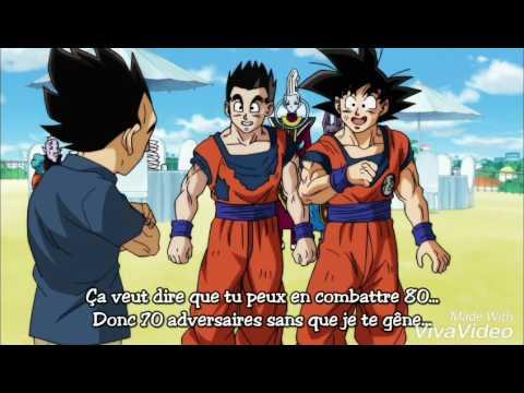 Dragon Ball super la naissance de Bra