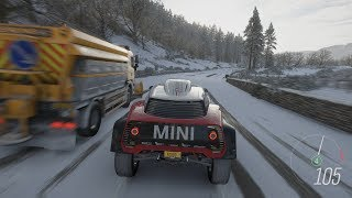 Forza Horizon 4 - 2018 MINI X-RAID John Cooper Works Buggy Gameplay [4K]