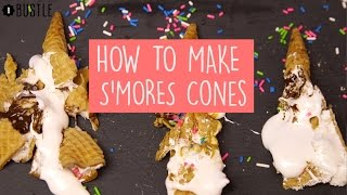 How To Make S'mores Cones