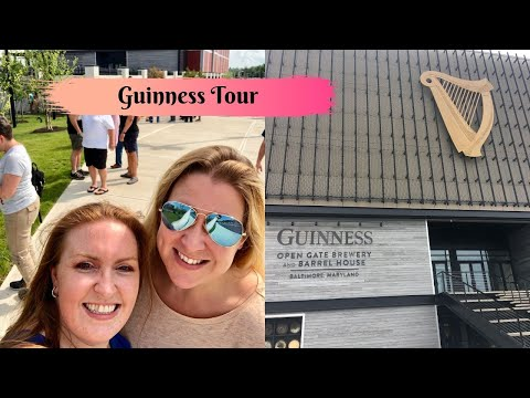 GUINNESS Brewery In Baltimore! | Guided Tour, Tasting & 1817 Restaurant