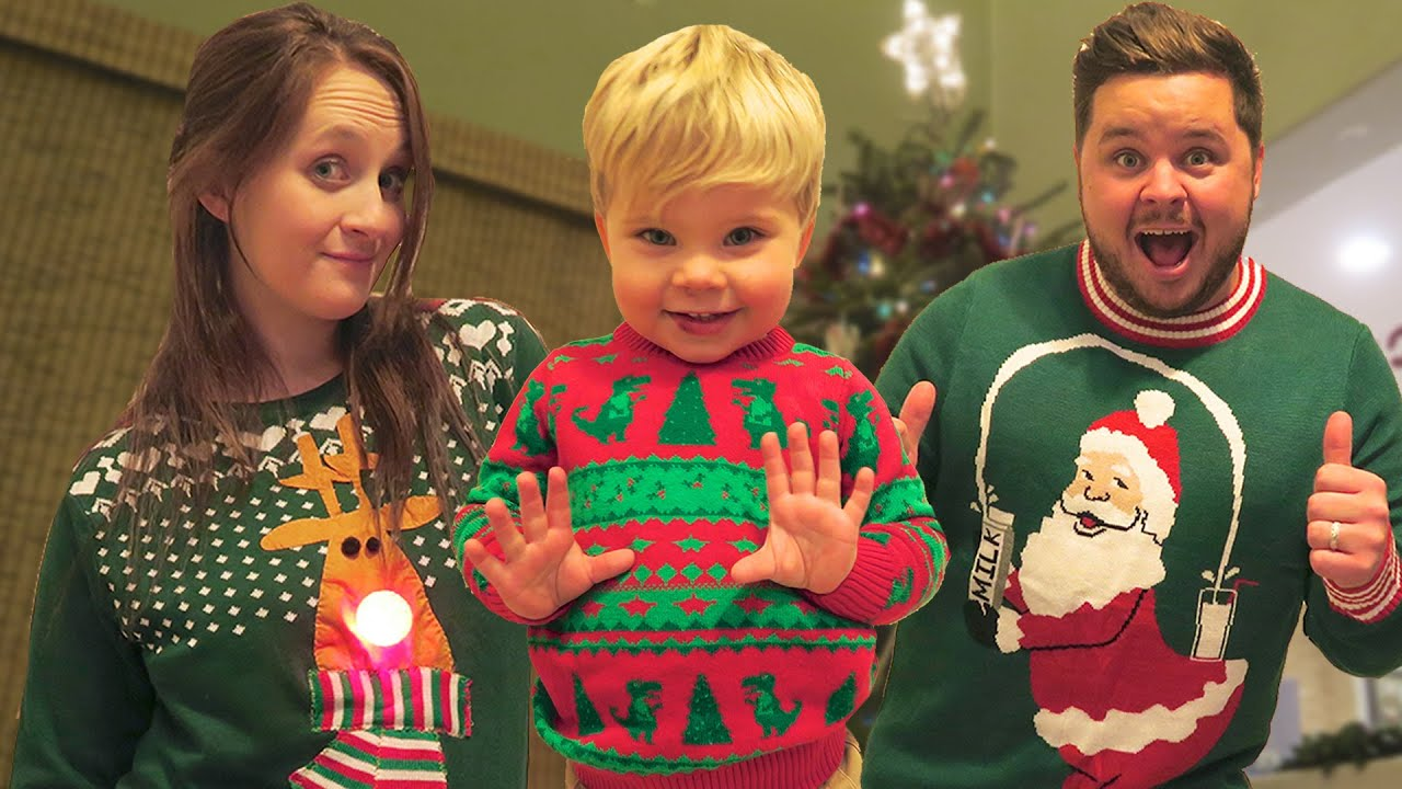UGLY CHRISTMAS SWEATER DANCE PARTY! - YouTube