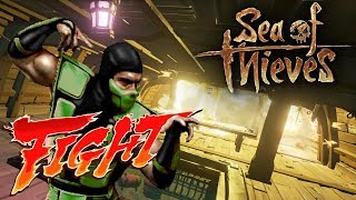 Fighting For Athena Loot, Fighting Salty Pirates & Fighting (fight) - Sea of Thieves
