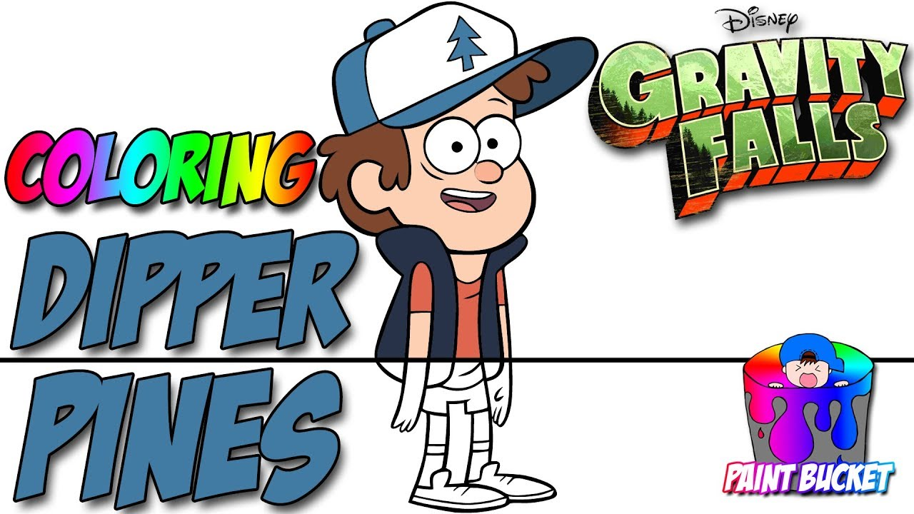 Coloring pages disney xd - Dipper Pines From Gravity Falls New Coloring Pages Disney Xd Coloring Book For Kids