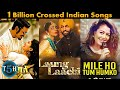 Top 5 Indian Songs Crossed 1 Billion Views on Youtube   Most Viewed Indian Song    Top 5 Hindi