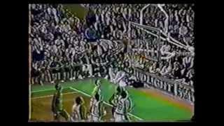 04.03.1988 - Mavs @ Celtics - Larry Bird highlights