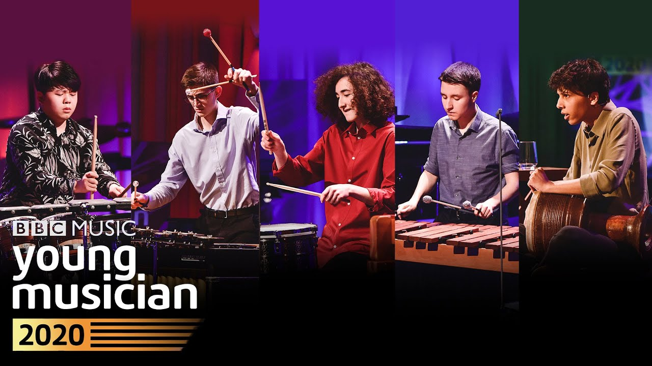 Five amazing young percussionists perform at the BBC Young Musician 2020 Percussion Final