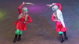 Валерия Карныш & Екатерина Налапко ☀ Folkloric Fusion Belly Dance Duet FINAL ☀ Oryantal Dans Ukraine