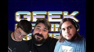 Geek Rating Review PODCAST: Episode 9 - Open World Video Games (04/19/19)