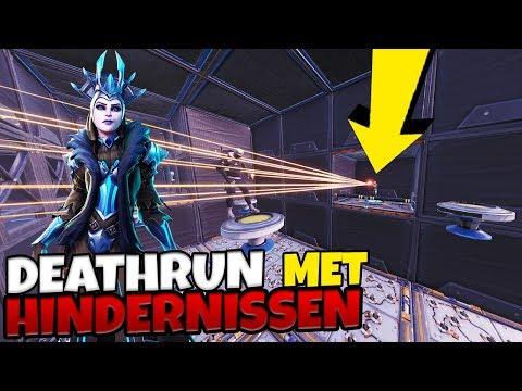 DEATHRUN PARKOUR MET HINDERNISSEN - Fortnite met Joost & Roedie