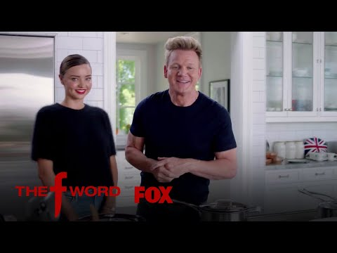 Miranda Kerr And Gordon Ramsay Go HeadToHead  Season 1 Ep. 9  THE F WORD