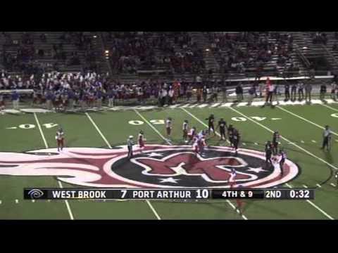 West Brook vs. Port Arthur Memorial(11-1-13)