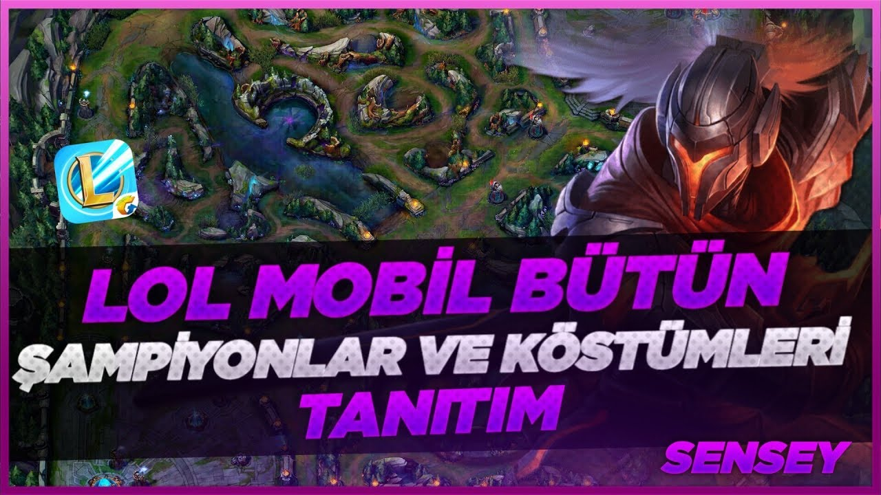 LoL Wild Rift: All Champions And Skins 2D/3D (Closed Beta)