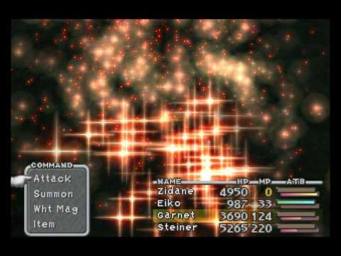Final Fantasy IX All Complete Eidolon Animations