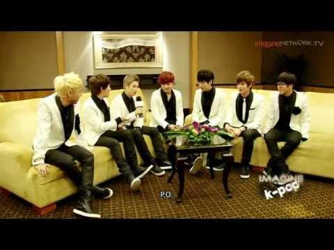 [HD] Block B speaks English